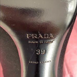 Prada Shoes - Prada Satin Pointed-Toe Pump